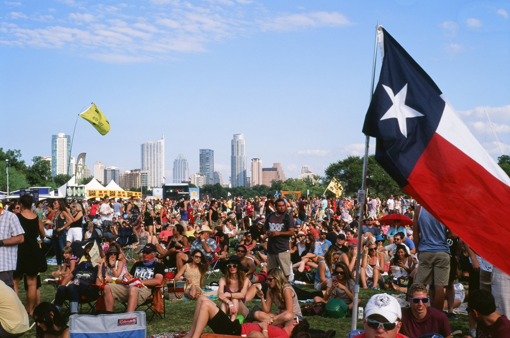 Austin City Limits is a huge music festival spanning two weekends in October. This live music event draws tens of thousands of visitors to the city every year.