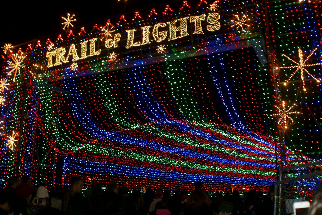 Holiday festivities kick off every December with the grand opening of the Trail of Lights, a decades old Austin tradition featuring over a mile of lights and displays.